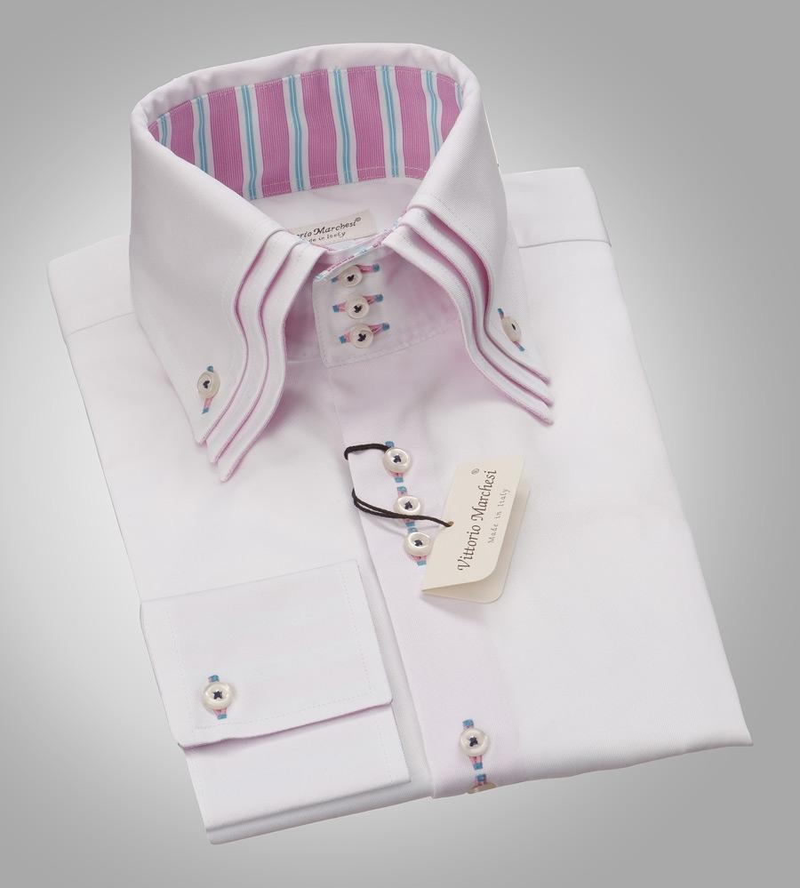 Мужская сорочка с запонками - Одежда и