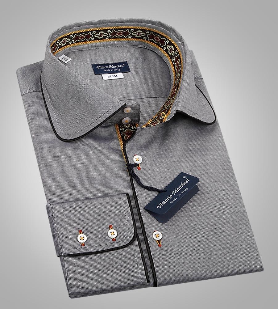 38e8df70e66 Мужские рубашки из Италии. Стильные мужские сорочки в интернет ...
