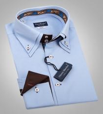 Как сшить двойной воротник на мужскую рубашку 10